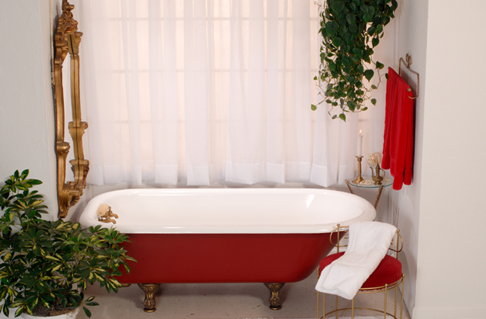 Picture of red tub